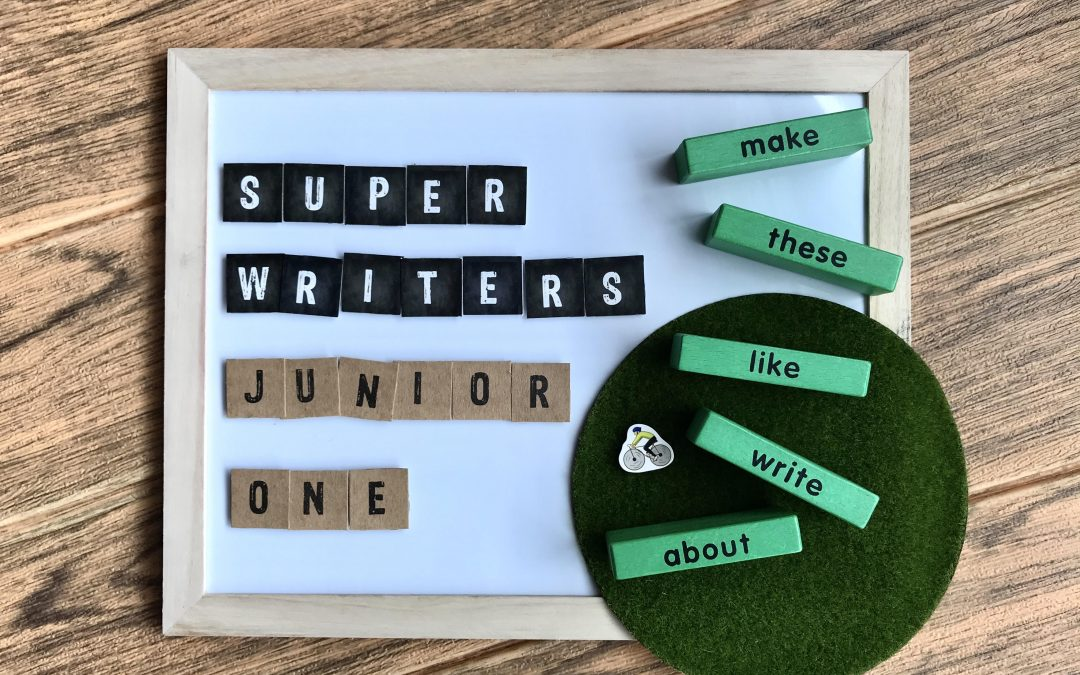 Super Writers™ (Junior): Creative writing for P1-3