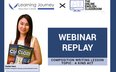 Webinar Replay + FREE Composition Practice Paper: A Kind Act