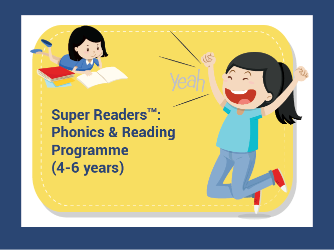 Super Readers: Phonics and Reading Classes (4-6 years old)