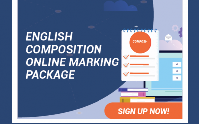 Secondary English Composition Online Marking Package