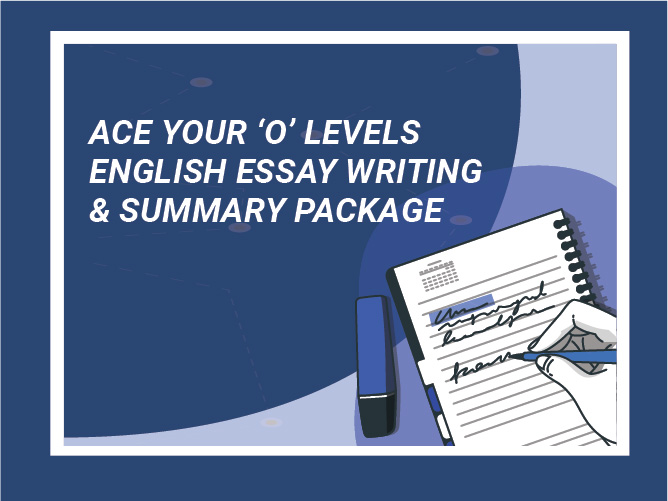 [SEC] Ace Your O Levels English Essay Writing & Summary Package