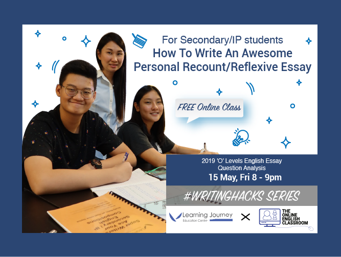 Webinar Replay : How To Write An Awesome Personal / Recount Reflexive Essay