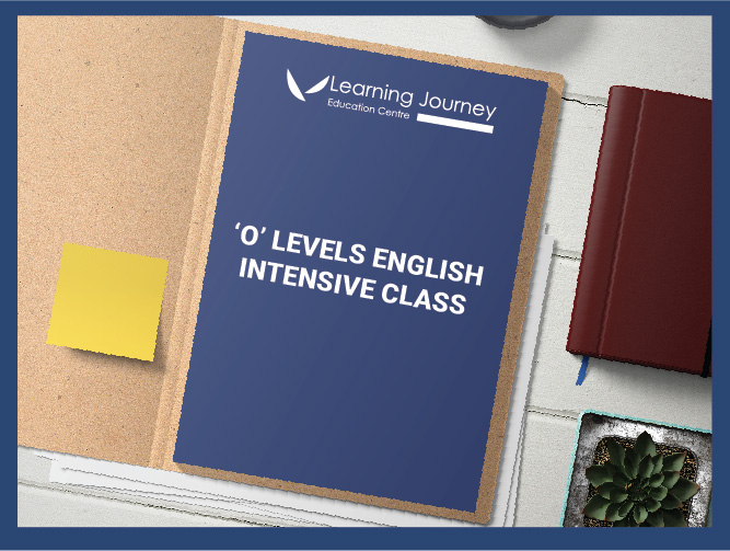 [SEC] O-Levels Intensive English Prep Classes