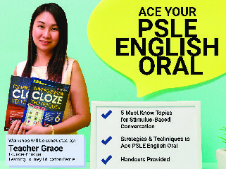Ace your PSLE Oral Intensive Prep Class